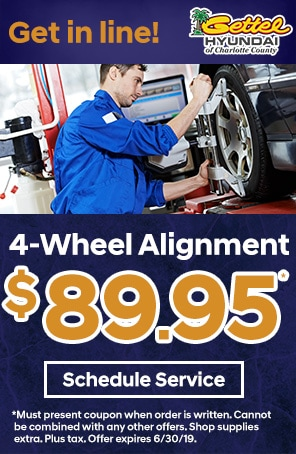 Four Wheel Alignment Special