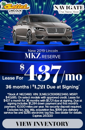 MKZ lease