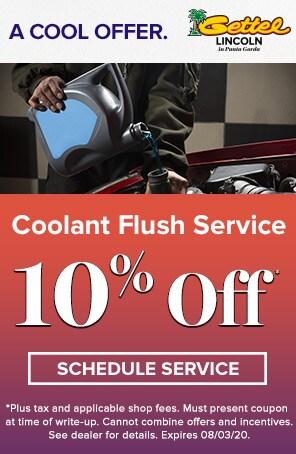 Coolant Flush Service Special