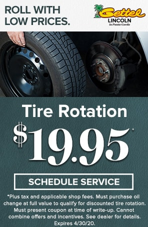 April Tire Rotation special