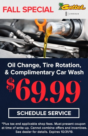 Oil, tire and car wash