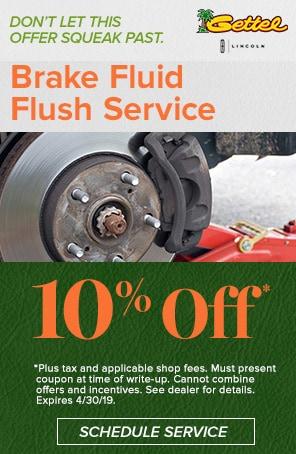 Brake Fluid Flush Service