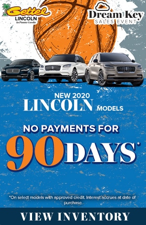 New 2020 Lincoln Models