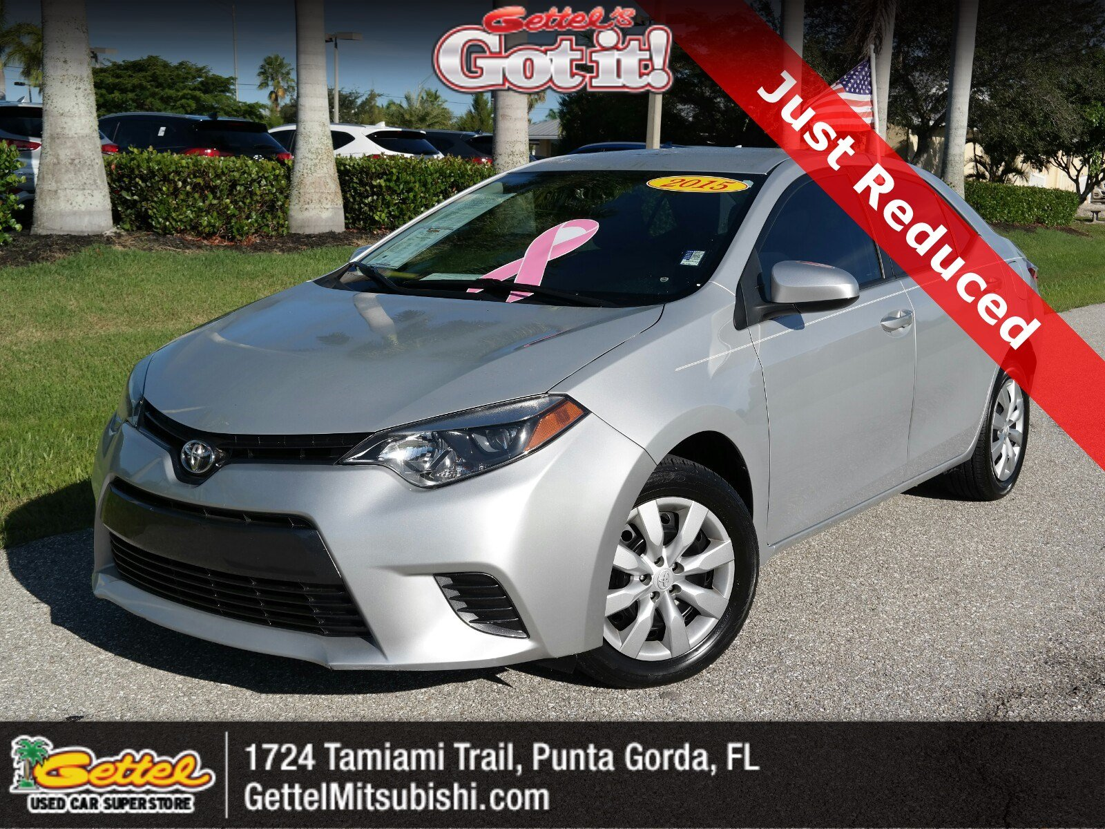 used 2015 toyota corolla for sale at gettel lincoln vin 2t1burhexfc453266 used 2015 toyota corolla for sale at