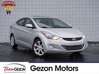 Bargain Used 2012 Hyundai Elantra Limited (A6) Sedan 5NPDH4AE9CH081812 for sale in Grand Rapids, MI