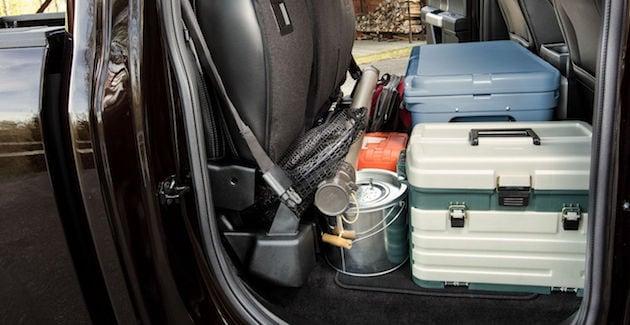 2018 Ford F-150 interior