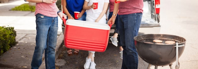 Tailgating coolers
