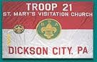 Boy Scout Troop 21 (St. Mary's Visitation Parish)
