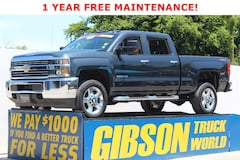 New 2018 Chevrolet Silverado 2500 Crew Cab Truck for Sale near Orlando, FL, at Gibson Truck World