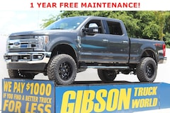Used 2018 Ford F-250 Lariat FX4 Ultimate Package Crew Cab LARIAT 4WD Crew Cab 6.75 Box for Sale in Sanford, FL, at Gibson Truck World