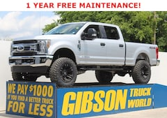 Used 2019 Ford F-250 XLT Leather Crew Cab XLT 4WD Crew Cab 6.75 Box for Sale near Orlando at Gibson Truck World