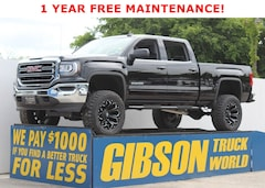 New 2018 GMC Sierra 1500 SLE Leather Z71 Crew Cab 4WD Crew Cab 143.5 SLE for Sale near Daytona, FL, at Gibson Truck World
