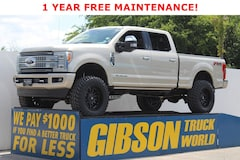 Used 2017 Ford F-250 Platinum Crew Cab Platinum 4WD Crew Cab 6.75 Box for Sale in Sanford, FL, at Gibson Truck World