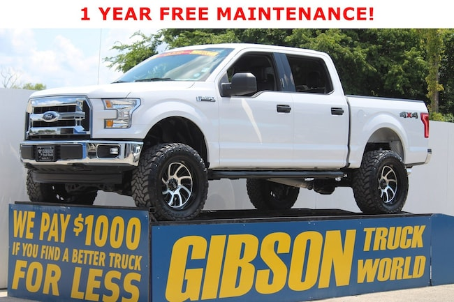 2016 Ford F-150 XLT Leather Crew Cab 4WD SuperCrew 145 XLT