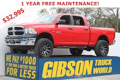 Used 2018 Ram 1500 SLT Leather Crew Cab Truck Crew Cab for Sale near Tampa, FL, at Gibson Truck World