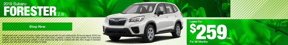 May 2019 Subaru Forester