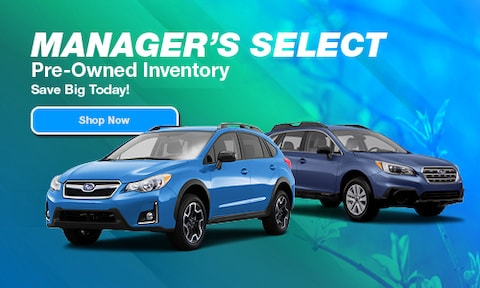 April Manager's Pre-Owned Specials