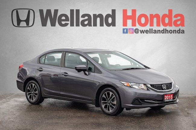 2015 Honda Civic EX - NO ACCIDENTS | ONE OWNER Sedan