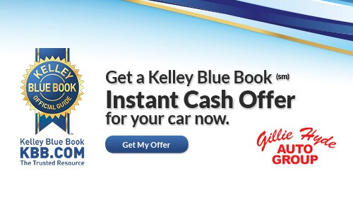 kelley blue book instant cash offer gillie hyde auto group serving bowling green. Black Bedroom Furniture Sets. Home Design Ideas