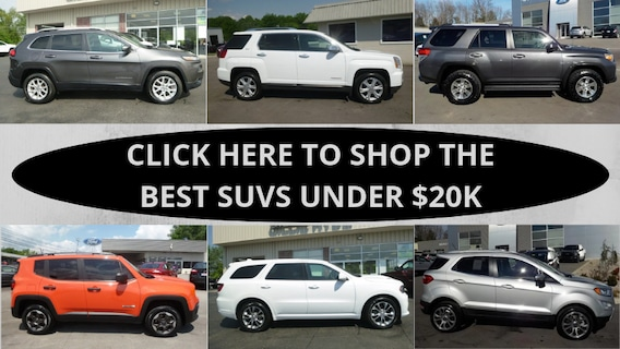 Gillie Hyde Glasgow Ky >> Shop The Best Suvs Under 20k In 2019 In Glasgow Ky
