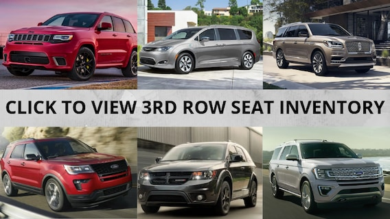 Cars With 3rd Row >> Vehicles With 3rd Row Seating At Gillie Hyde Auto In Glasgow