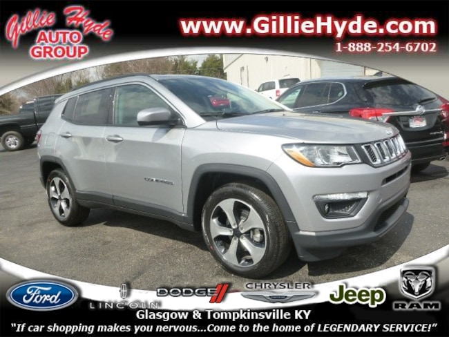 New 2019 Jeep Compass LATITUDE FWD SUV 3C4NJCBB6KT699918 in Glasgow, KY