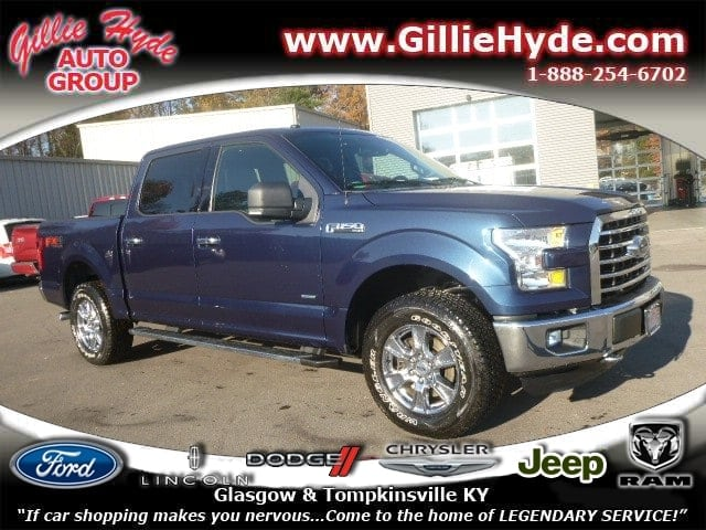 2016 Ford F-150 XLT FX4 Off-Road 4x4 w/Ecoboost Truck SuperCrew Cab 1FTEW1EP3GFA09573