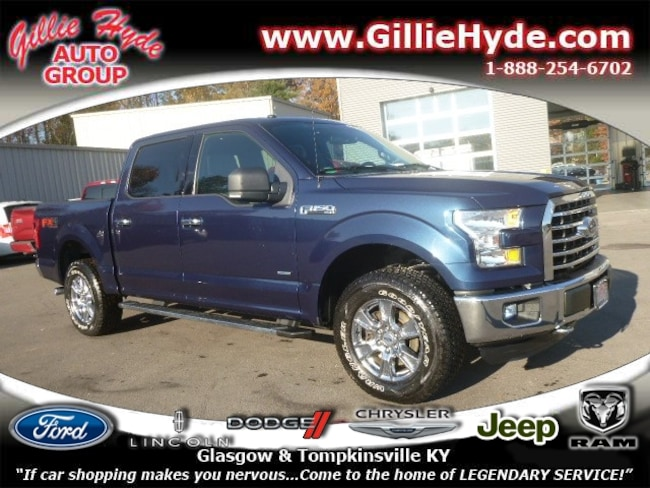 Used 2016 Ford F-150 XLT FX4 Off-Road 4x4 w/Ecoboost Truck SuperCrew Cab Glasgow, KY
