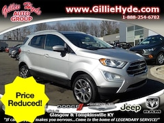 Used Vehicles for sale  2018 Ford EcoSport Titanium AWD SUV MAJ6P1WL6JC246733 in Glasgow, KY