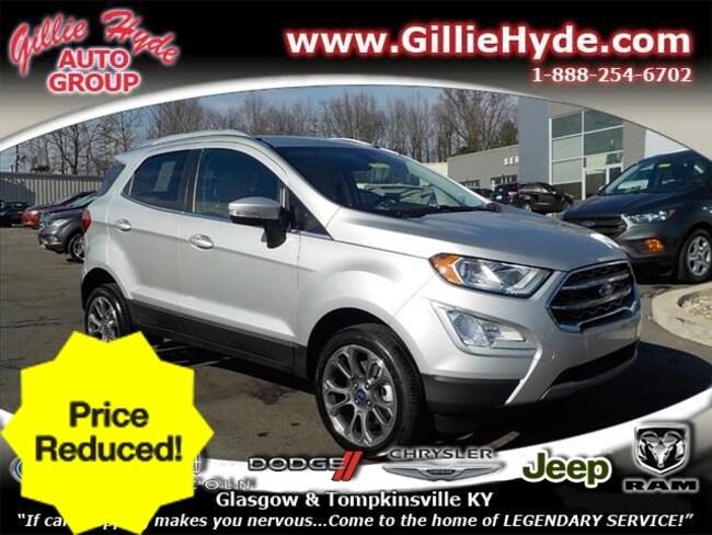 Used 2018 Ford EcoSport Titanium AWD SUV Glasgow, KY