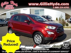 Used Vehicles for sale  2018 Ford EcoSport SE AWD SUV MAJ6P1UL5JC241462 in Glasgow, KY