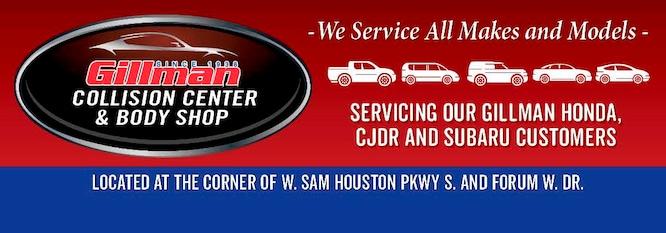 Gillman Honda Houston >> Auto Body Shop Specials Gillman Honda Of Houston