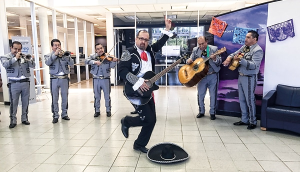 The Daring, Dancing Mariachi Is, In Reality, Gillman Honda Houston General  Manager Daryl Waterwall. His Temporary Transformation Was Part Of A  Spectacular ...