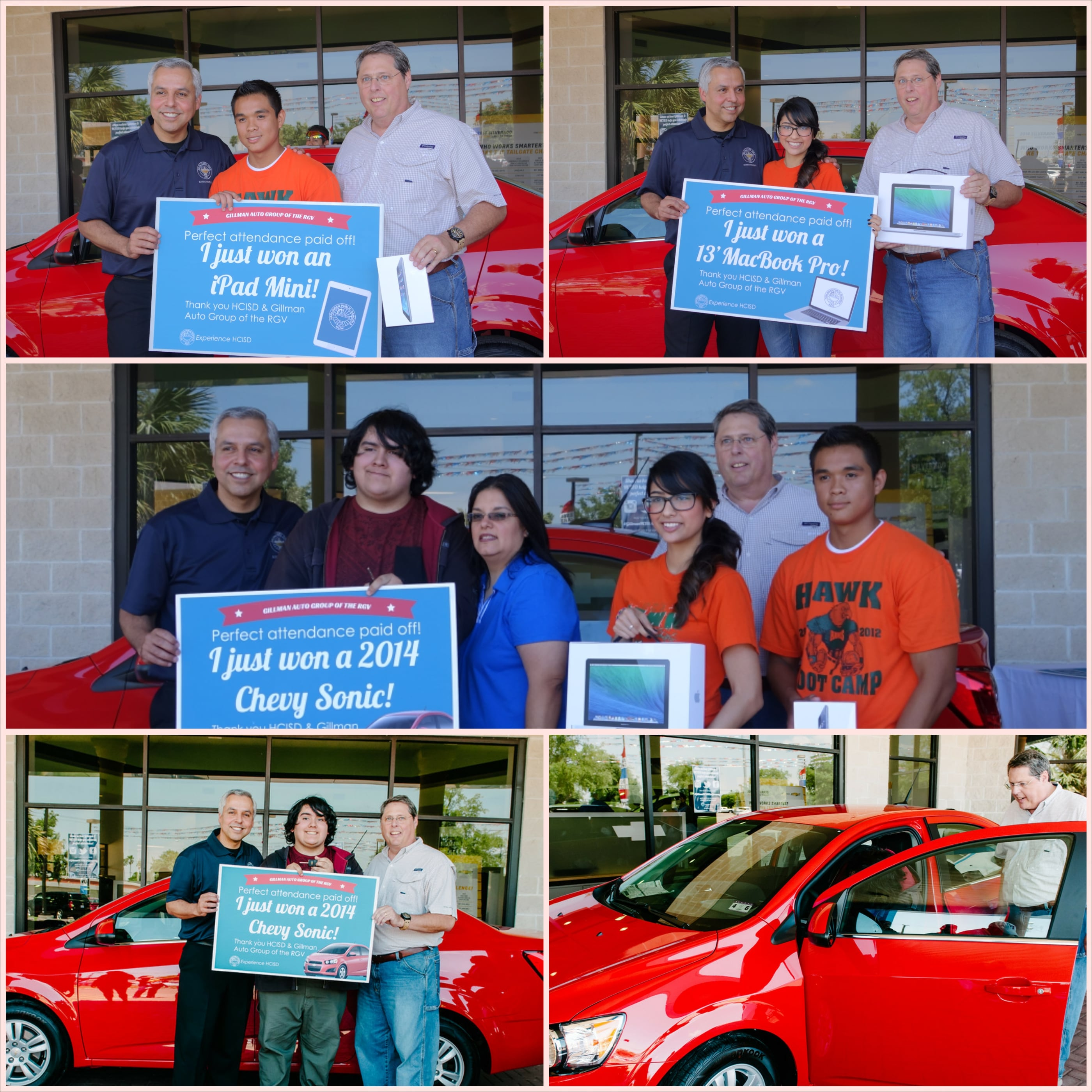 Gillman Auto Group Partners With HCISD For Student