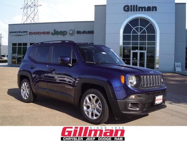 2018 Jeep Renegade LATITUDE 4X2 Sport Utility Houston