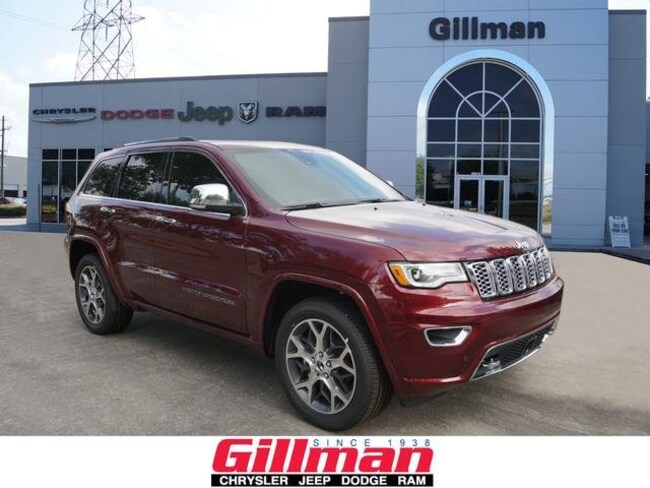 2019 Jeep Grand Cherokee OVERLAND 4X2 Sport Utility Houston