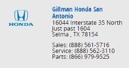 Honda. Gillman Honda Houston