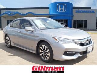 New 2017 Honda Accord Hybrid Touring Sedan in Rosenberg, TX