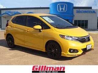 New 2018 Honda Fit Sport Hatchback in Rosenberg, TX