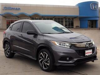 New 2019 Honda HR-V Sport 2WD SUV 00H90539 near San Antonio