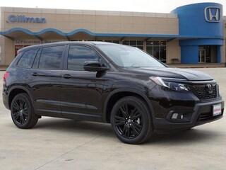 New 2019 Honda Passport Sport FWD SUV 00H91144 for sale near San Antonio, TX