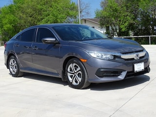 Certified Pre-Owned 2016 Honda Civic LX Sedan 0H78130A near San Antonio