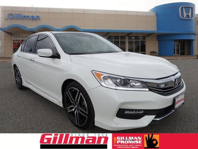 Certified Pre-Owned 2017 Honda Accord Sport w/Honda Sensing Sedan in San Antonio