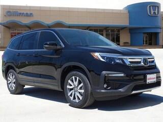 New 2019 Honda Pilot EX-L w/Navi & RES FWD SUV 00H90675 near San Antonio