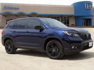 New 2019 Honda Passport Sport FWD SUV 00H91157 for sale near San Antonio, TX