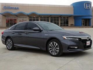 New 2019 Honda Accord Hybrid Touring Sedan 00H90623 near San Antonio