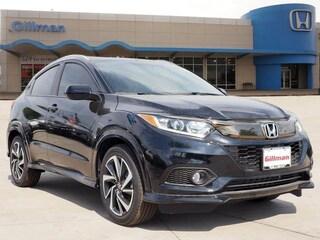 New 2019 Honda HR-V Sport 2WD SUV 00H90291 near San Antonio