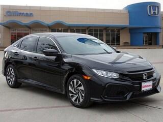 New 2018 Honda Civic LX Hatchback 00H81939 near San Antonio