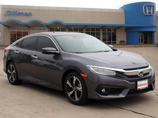 New 2018 Honda Civic Touring Sedan 00H82090 near San Antonio