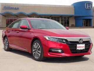 New 2019 Honda Accord Hybrid Touring Sedan 00H90697 near San Antonio